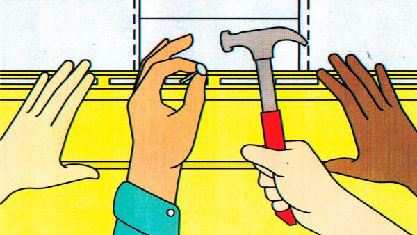 Helping hands while traveling. Illustration By George Wylesol (AFAR Magazine)