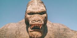 fake gorilla