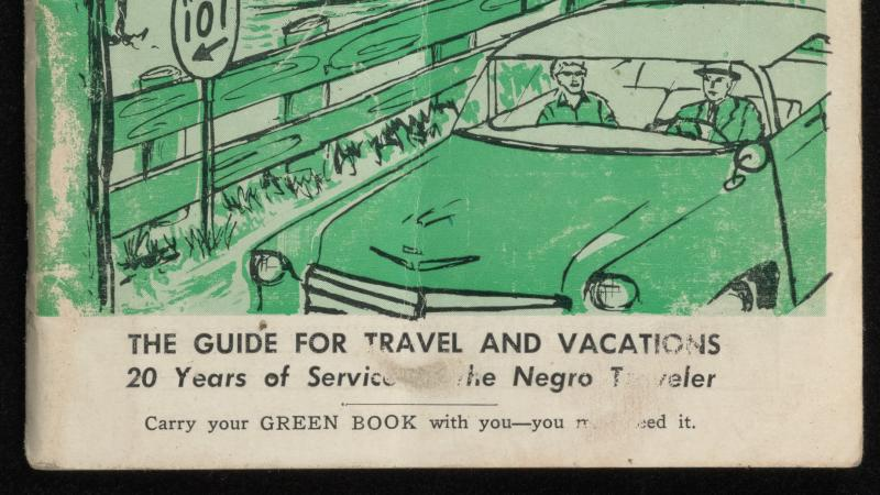 "cover of ""The Negro Travelers' Green Book"""